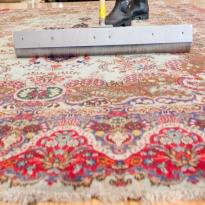 Hooked and Needlepoint rug cleaning